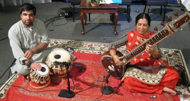 Traditional Music of India, Veena Chandra, Performing on Sitar and Devesh Chandra, Performing on Tabla